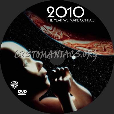 2010: the year we make contact dvd label