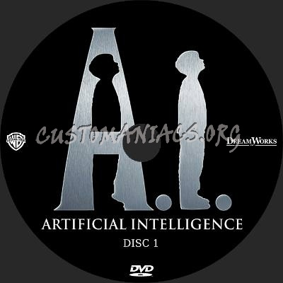 Artificial Intelligence dvd label