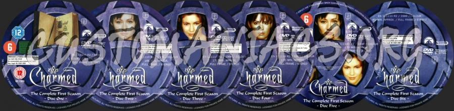 Charmed - Season 1 dvd label