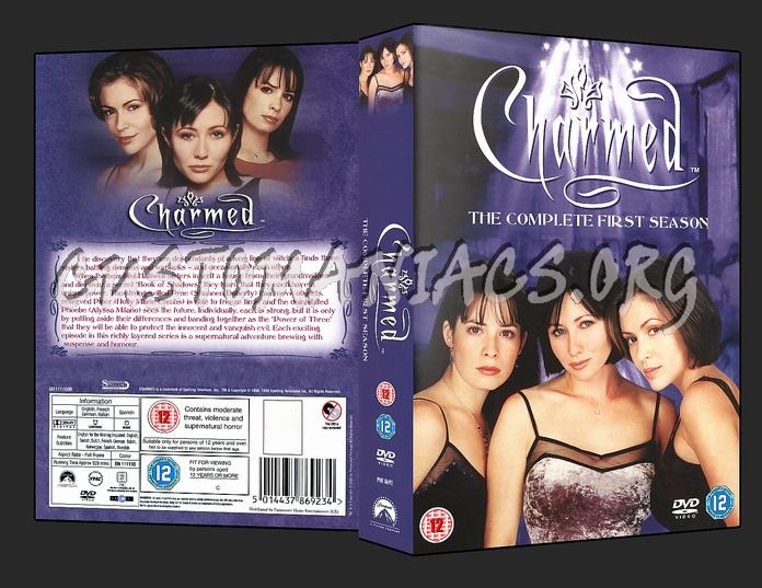 Charmed - Season 1 dvd cover