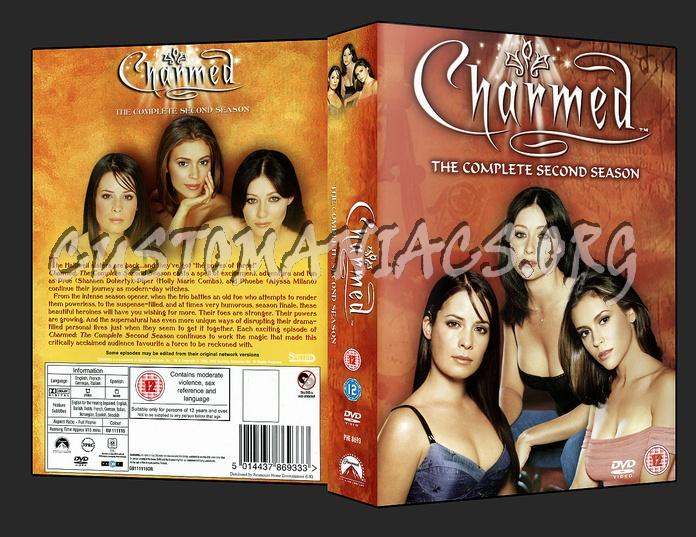 Charmed - Season 2 dvd cover