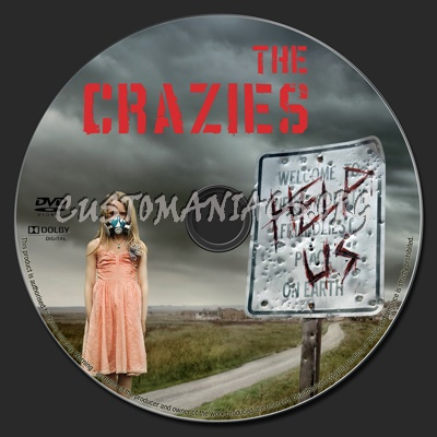 The Crazies dvd label