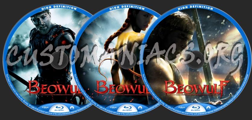 Beowulf blu-ray label