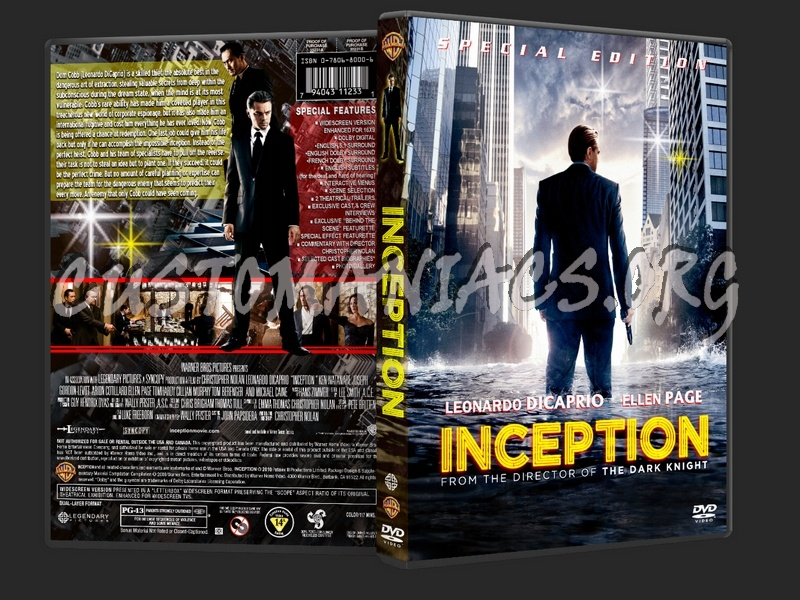 Inception dvd cover