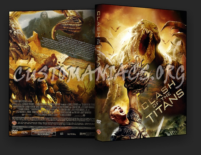 Clash Of The Titans dvd cover