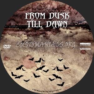 From Dusk Till Dawn I,II,II dvd label