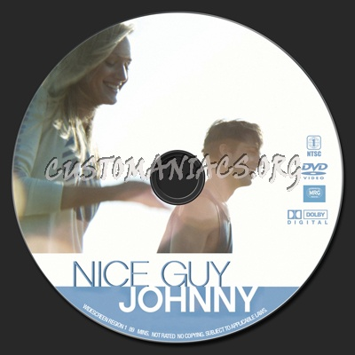 Nice Guy Johnny dvd label