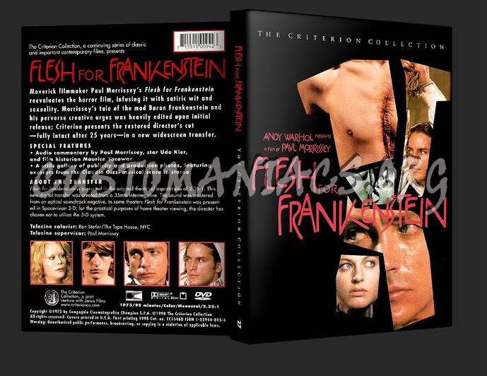 027 - Flesh For Frankenstein dvd cover