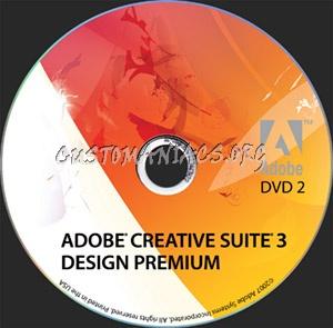 Adobe Creative Suite 3 - Design Premium dvd label - DVD