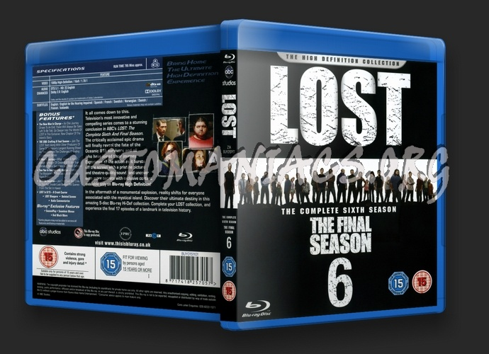 Lost Season 6 blu-ray cover