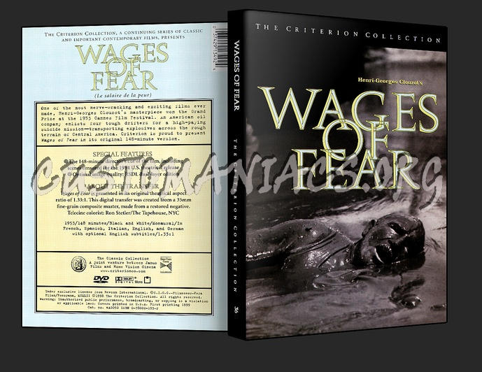 036 Wages of Fear dvd cover