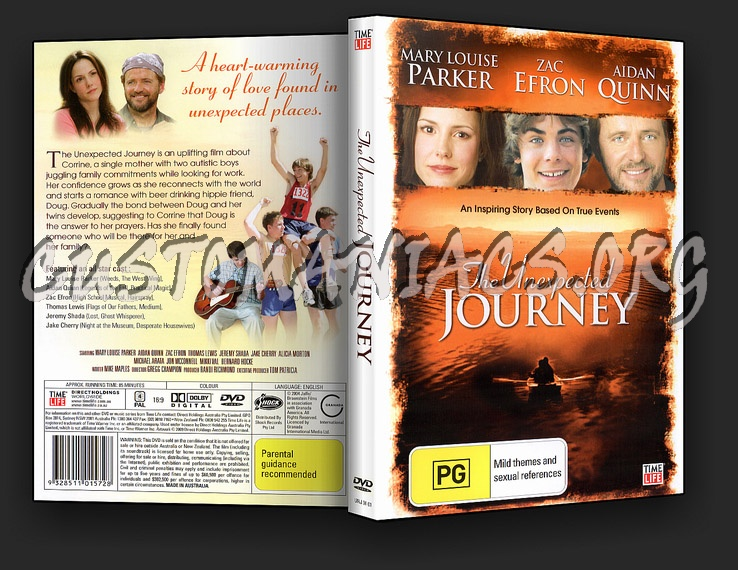 The Unexpected Journey dvd cover