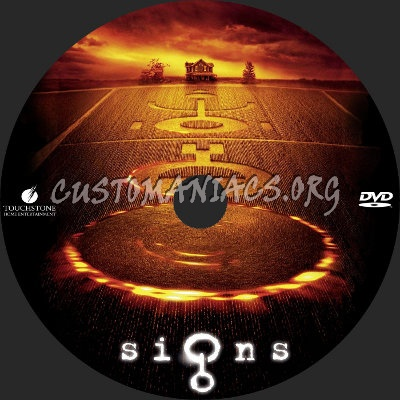 Signs dvd label