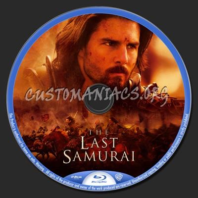 The Last Samurai blu-ray label