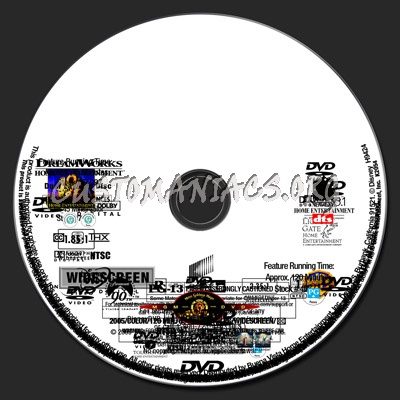 Label Template - Photoshop dvd label