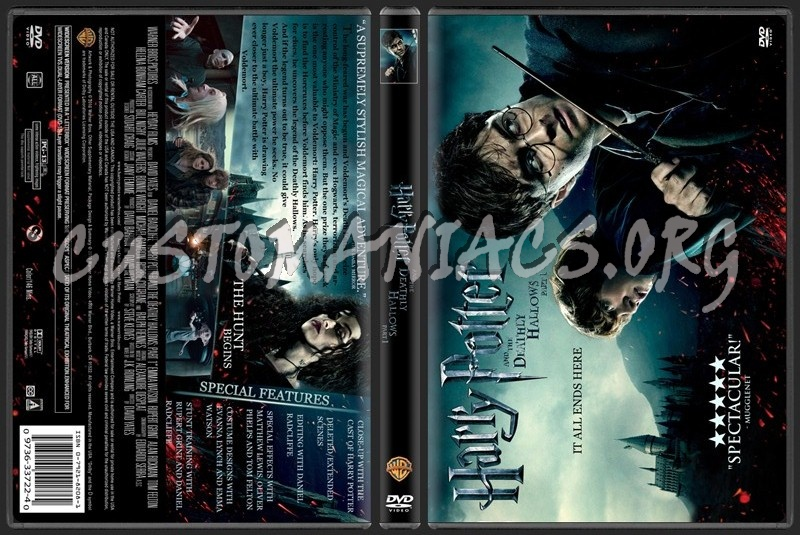 harry potter and the deathly hallows dvd cover art. harry potter deathly hallows