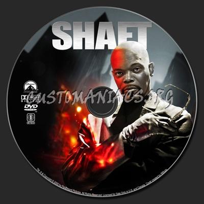 Shaft (2000) dvd label