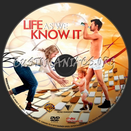 Life As We Know It dvd label