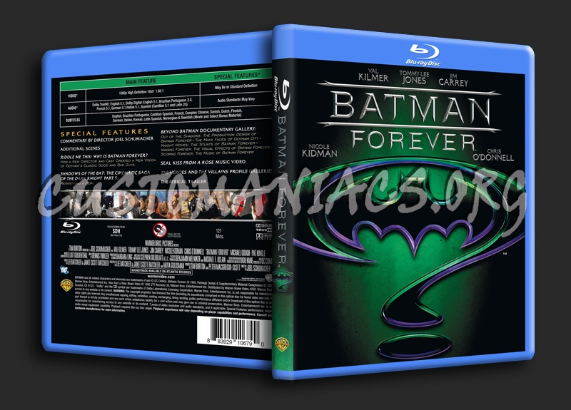 Batman Forever blu-ray cover