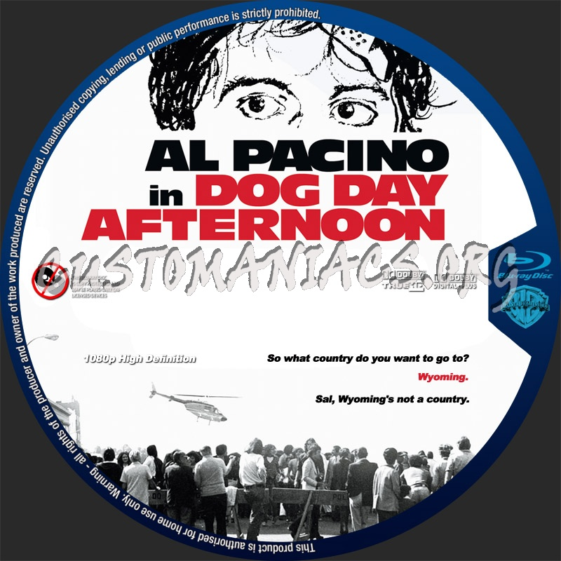 Dog Day Afternoon blu-ray label