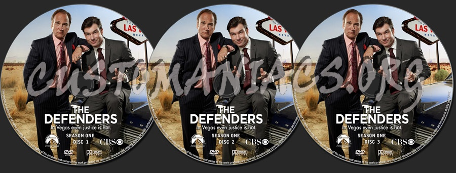 The Defenders Season 1 dvd label - DVD Covers & Labels by