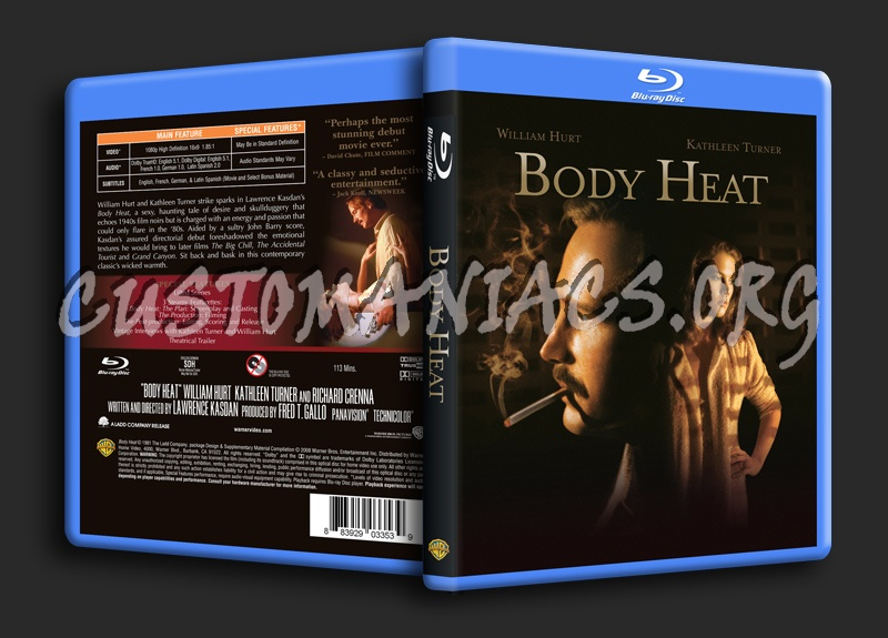 Heat – DVD-Blu-ray covers & labels