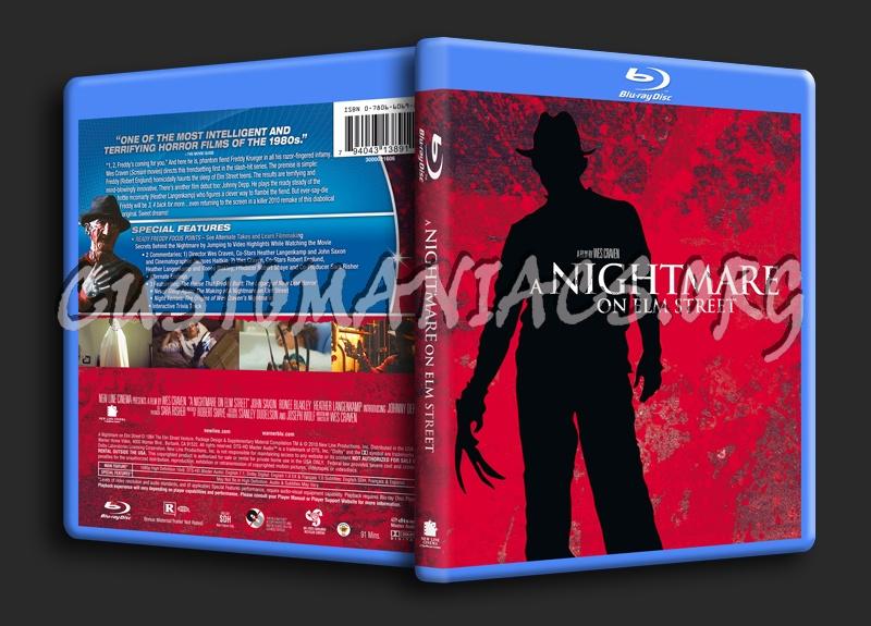 A Nightmare on Elm Street (1984) blu-ray cover