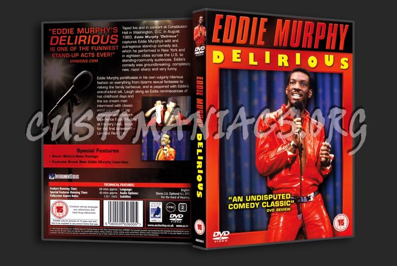 Eddie Murphy Delirious dvd cover