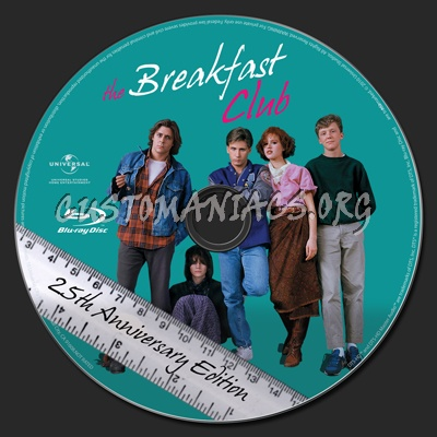 The Breakfast Club blu-ray label