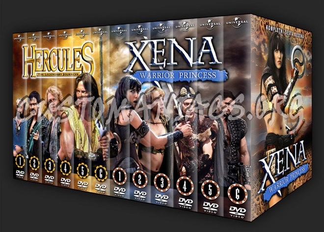 Xena - Warrior Princess dvd cover