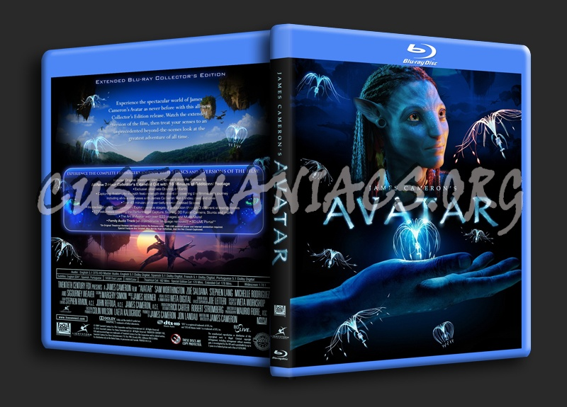 Avatar (Extended Edition) blu-ray cover
