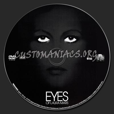 Eyes of Laura Mars dvd label