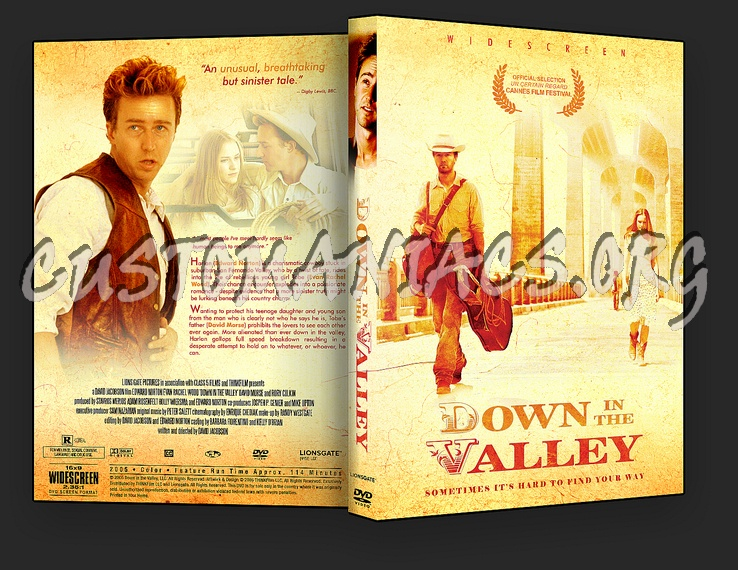 Down in the Valley dvd cover