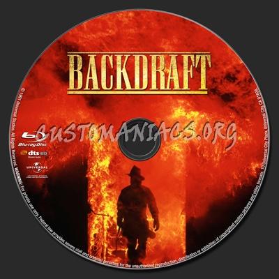 Backdraft blu-ray label