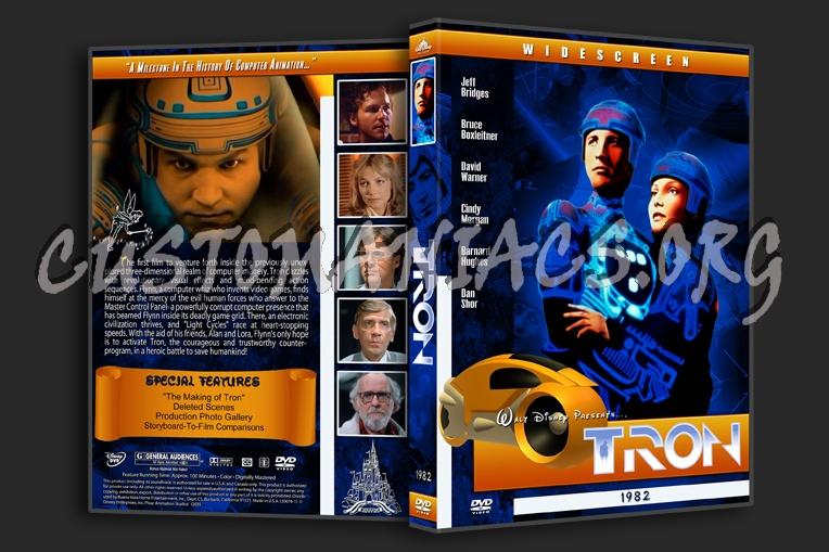 Tron - 1982 dvd cover