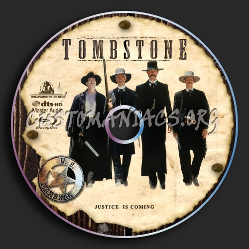 Tombstone blu-ray label