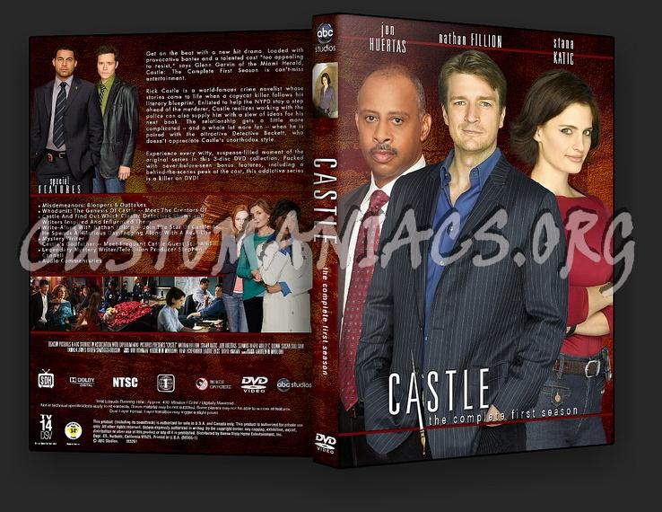 Castle Season 1 Dvd Cover