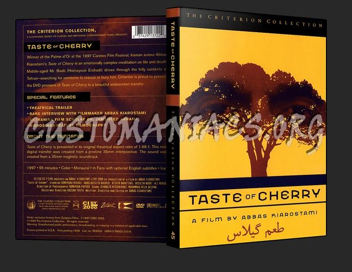 045 - Taste of Cherry dvd cover