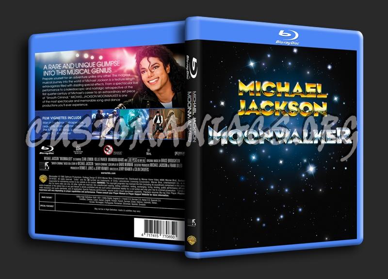 Moonwalker blu-ray cover