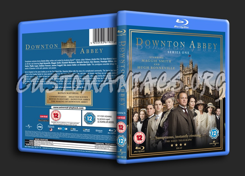 Downton Abbey Series 1 blu-ray cover