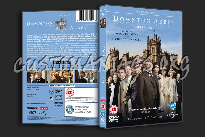 Downton Abbey Series 1 dvd cover