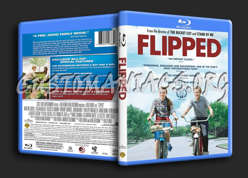 Flipped blu-ray cover