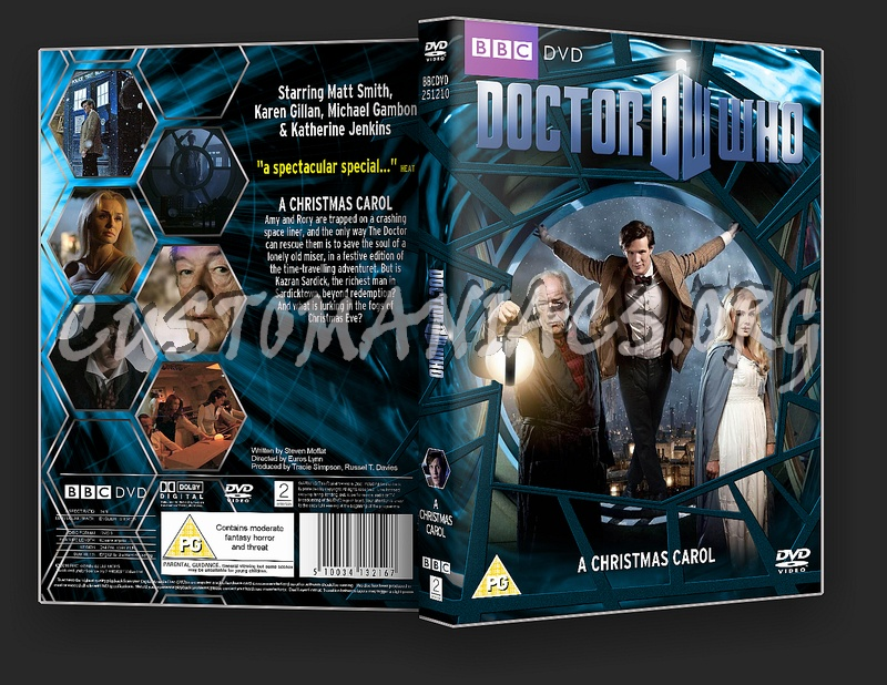 Doctor Who : A Christmas Carol dvd cover - DVD Covers & Labels by Customaniacs, id: 124118 free ...