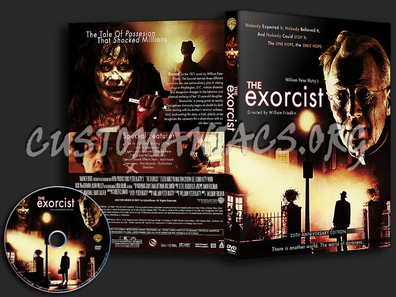 The Exorcist  25th Anniversary Edition Dvd Cover