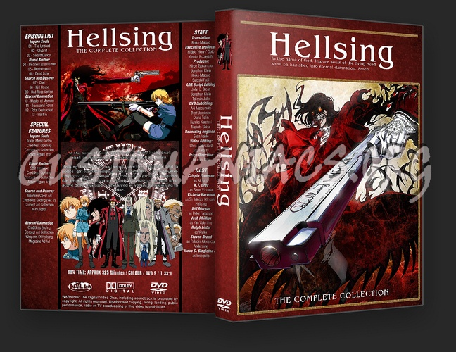 Hellsing Complete Collection dvd cover