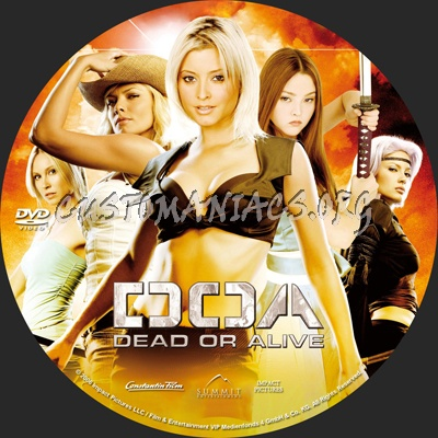 Doa Dead Or Alive Dvd Label Dvd Covers Labels By