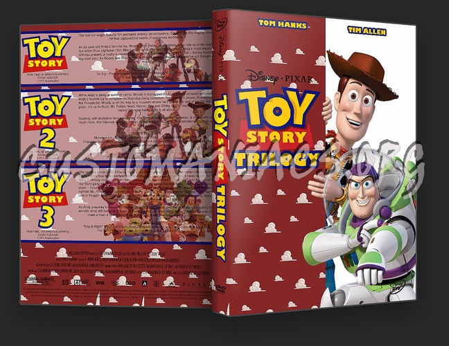 Toy Story Trilogy dvd cover