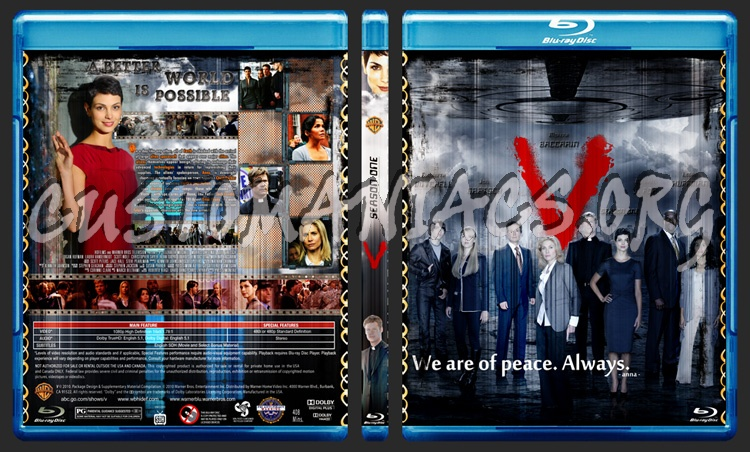 V (2009) blu-ray cover