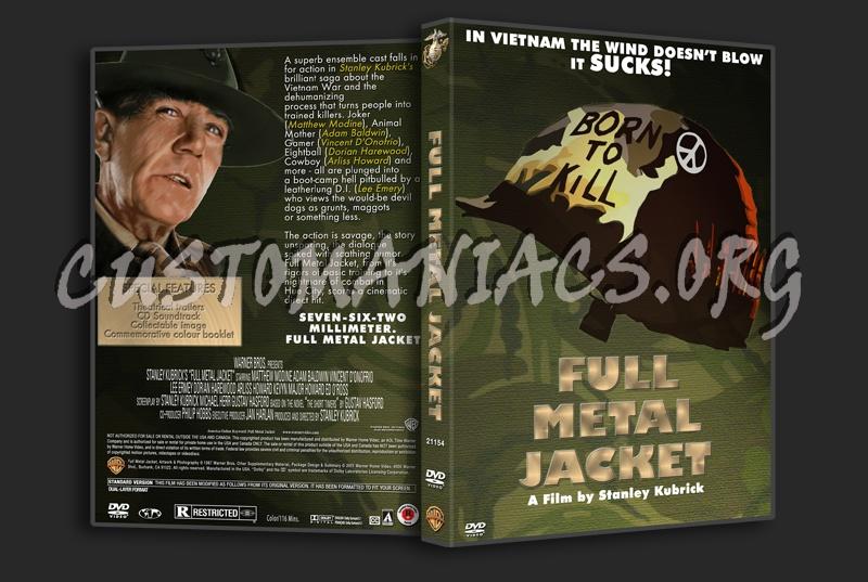 Full Metal Jacket dvd cover