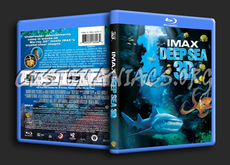 Imax Deep Sea 3D blu-ray cover